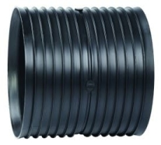 Siroplast/Aquadrain 235/199 mm dobbeltmuffe, uden gummiringe