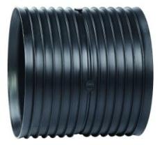 Siroplast/Aquadrain 353/300 mm dobbeltmuffe, uden gummiringe