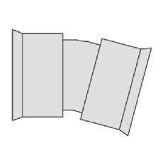 Hegler 235/199 mm 15 gr. bøjning, uden gummiringe