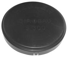 Siroplast/Aquadrain 353/300 mm slutmuffe, uden gummiring