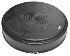 Aquadrain/Aquatub 464/395 mm slutmuffe, uden gummiring