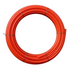 Uponor 50/44 mm PE-kabelrør uden muffe, glat/glat, 100 m, rø