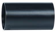 Hekaplast 50 mm PEH-samlemuffe til korrugeret kabelrør, sort