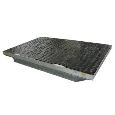 Melbye FF9060 915 x 610 mm dæksel, 12,5 t, støbejern, kabelb