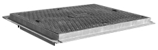 Wavin Stakkabox Modula 1200 x 600 mm dæksel, komposit, 12,5