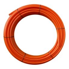 Uponor 50/44 mm PE-kabelrør uden muffe, glat/glat, 100 m, or