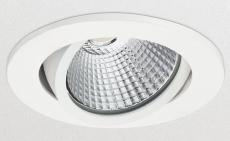 Ledinaire Downlight RS061B 6W, 500 lumen, 830, kipbar, hvid
