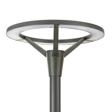 Parklygte StreetSaver BPP008 LED-MP/740 2500 lumen PSU I grå