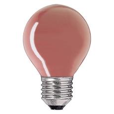Krone 15W 230V E27 rød (E)