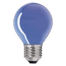 Krone 15W 230V E27 blå (E)