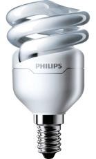 Lavenergilampe Tornado Spiral 8W 827, 505 lumen E14 (A)