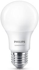 SceneSwitch LED 8/5/2W A60 E27 mat (A+)