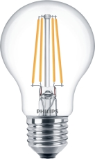 LED Filament Std 7W 827, 806 lumen, E27, A60 klar (A++)