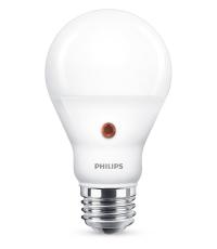 LED Dag/Nat-Sensor 7,5W 827, 806 lumen, E27, A60 mat (A+)