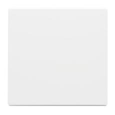 Afdækning for afbryder enkelt 1M hvid