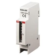 Timetæller 230V til din-skinne, E233-230