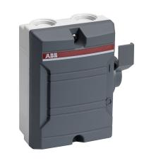 Sikkerhedsafbryder 16A 3P+hjælpekontakt BWS 316 TPN grå