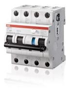 Kombiafbryder HPFI C 10A, 30mA, 3P+N, DS203NC