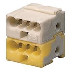 KNX Konnektor hvid/Gul Klemme