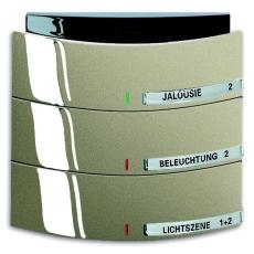 KNX Triton Betjeningselement 3/6-tryk palladium