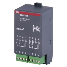 KNX Snap-On Binære Indgangsmoduler 4-Kanal 230V AC/DC