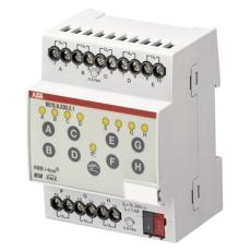 KNX Binære Indgangsmoduler, 8-Kanal, 10...230V mdrc