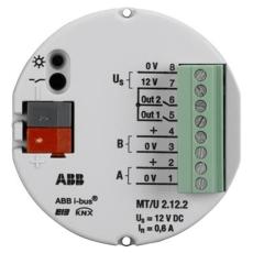 KNX Security Alarm Sikkerhedsterminal 2-Kanal MT/U2.12.2