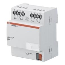 KNX Udgangsmodul 4-Kanal 6A mdrc SA/S 4.6.1.1
