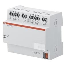 KNX Blæser-/Ventilator aktuator 6A 2-Kanal mdrc Fcl/S 2.6.1.