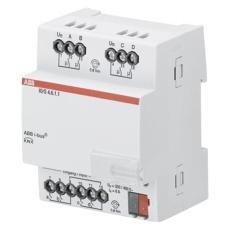KNX I/O Aktuator 6A 4 Indgange/4 Udgange mdrc