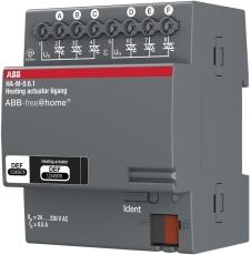 Free-Home Aktuator varmestyring 6x160mA DIN 4M HA-M-0.6.1