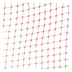 Byggros Plurima 4 x 62,5 m miljønet, 5 x 6 mm, orange