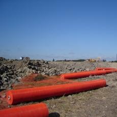 Byggros Plurima 4 x 500 m miljønet, 5 x 6 mm, orange
