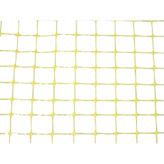 Expo-net 4 x 100 m miljønet, 15 x 15 mm, gul EXPO1515