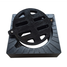 Uni-Cover 315 mm karm/rist m/lås, firk., fast, 40 t, komposi