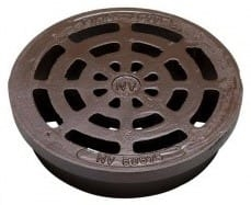 NV 425 mm rist uden pakning og lås, 40 t, GG