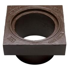 NV 425 x 248 mm karm uden pakning, firkantet, fast, GG
