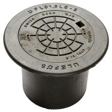 Ulefos 315 x 320 mm karm m/bolt. dæksel, rund, flyd., 40 t G