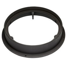 Ulefos 600 x 150 mm karm uden pakning, rund, fast, SG U15X