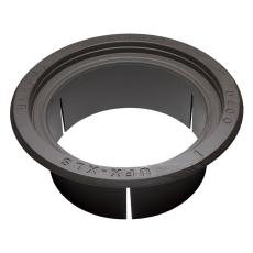 Ulefos 600 x 300 mm karm m/pakning, rund, flydende, SG UFX X