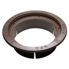 Ulefos 600 x 242 mm karm m/pakning, rund, flydende, SG UFX L