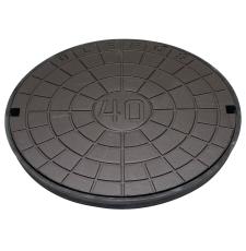 Ulefos 600 mm dæksel med UP-pakning, uden lås, 12,5 t, GG U6