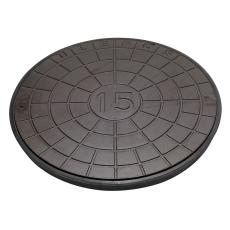 Ulefos 600 mm dæksel med UP-pakning, uden lås, 25 t, SG UN60