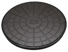 Ulefos 600 mm dæksel med UP-pakning, uden lås, 12,5 t, SG UN