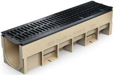 ACO S150K 500 mm rende 0.2 med støbejernsrist/udsparing, 90