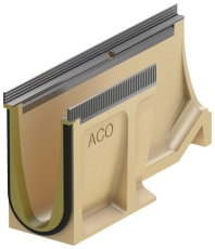 ACO V100S SEAL IN overgangsrende 20-10 m/galv.karm, u/udløb/