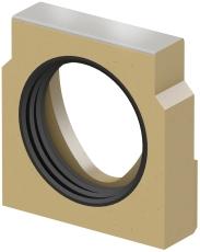 ACO V100S endevæg m/110 mm studs t/V100S 20. render m/rf. ka