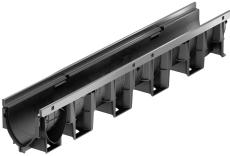 ACO V100PS 1000 x 150 mm rende u/rist/studs, m/galvaniseret