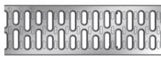 ACO V100 500 mm galvaniseret spalterist, 1,5 t