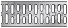 ACO V100 1000 mm galvaniseret spalterist, 25 t